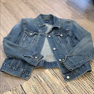 Gap Stretch Denim Jacket Size L